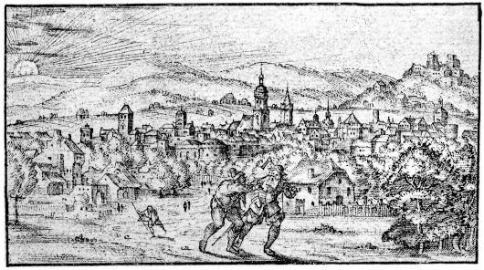 Alsfeld,  Dilich 1591