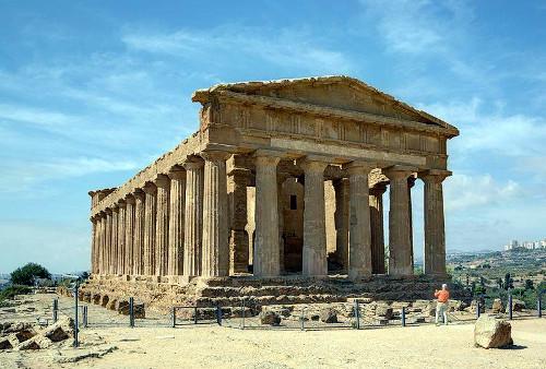 Dorischer Tempel von Agrigent, Sizilien