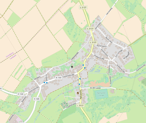 [3] Lauter,  Gemeinde Laubach,  Landkreis Gießen
