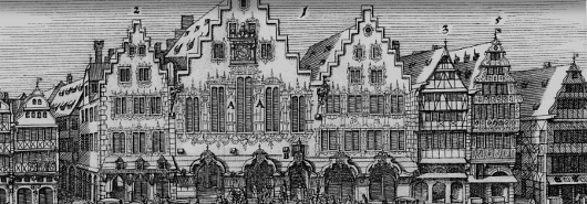 Bild [1]: Rathhauß zu Franckfurt am Mayn, 1658
