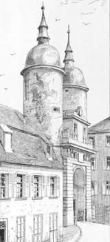 Brückenturm, Heidelberg
