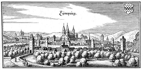 Ansicht von Limburg, 1646