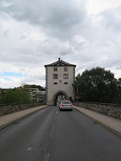 Südansicht Brückenturm, Limburg