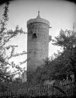 Bild [7]: Turm am Haupttor in Grebenstein