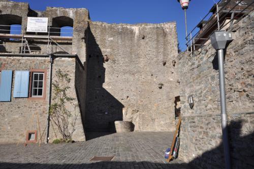 Nordmauer Innehof