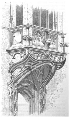 Bild [5]: Chörlein des Falkenstein'schen Hauses bei Freiburg (Breisgau)