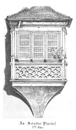 Bild [11]: Der Zweite Chor am Sebalder Pfarrhof