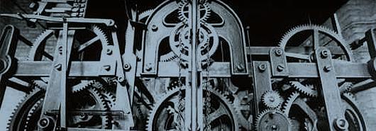 Bild [1]: Altes Uhrwerk, St. Marien-Kirche zu Offenbach am Main (Ausschnitt) , 1913