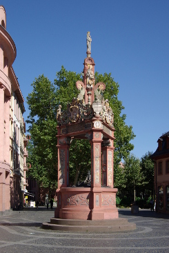 Makrtbrunnen, Mainz